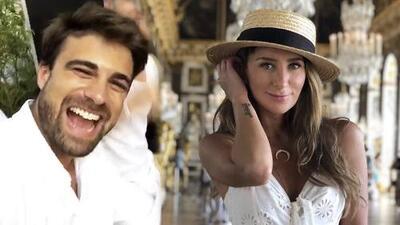 Geraldine Bazán dice en Francia que le hace falta un príncipe (y a solo 43 millas tiene a Santiago Ramundo)