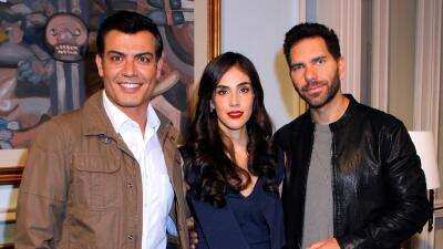 En fotos: Sandra Echeverría, Andrés Palacios y Arap Bethke inician las grabaciones de 'La Usurpadora'