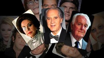 La 'maldición' de los famosos o cuando la muerte los acecha de tres en tres