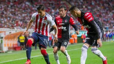 Cómo ver Atlas vs. Chivas en vivo, por la Liga MX