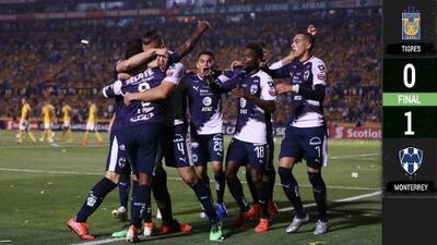 Se rayó la Final: Monterrey tomó ventaja y 'congeló' el 'Volcán'