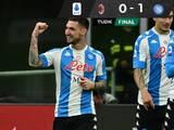 Napoli venció al Milan y se mete a puestos europeos
