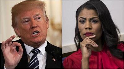Se intensifica la guerra verbal entre Trump y una exasesora de la Casa Blanca que lo tilda de racista