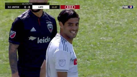 Carlos Vela falla un penal y se pierde el primer gol de LAFC ante DC United