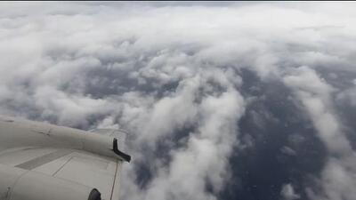 Vuelo al ojo del huracán: así se ve Florence antes de su llegada a la costa estadounidense