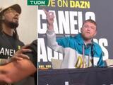 """'Canelo' Álvarez corre de conferencia a Demetrius Andrade: """"Eres un boxeador horrible"""""""