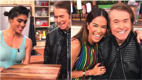 Mela puso a 'tocar madera' a Raphael y Karla recordó con él sus primeros amores