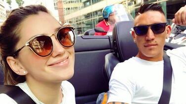 Muere novia de Ricardo Centurión en accidente automovilístico