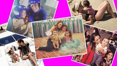 Las mejores fotos de Jacky Bracamontes con sus princesas