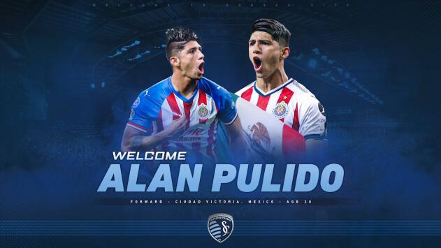 Alan Pulido, la nueva joya mexicana del Sporting KC para brillar en la MLS