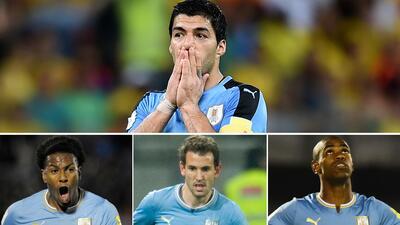 Las opciones de Uruguay para reemplazar a Luis Suárez en la Copa América