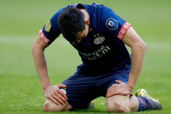 En fotos: Chucky Lozano se fue perdedor con PSV Eindhoven en el clásico contra Ajax