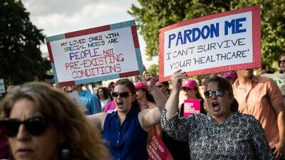De vociferar contra Obamacare a evitar el tema: cómo los republicanos guardan silencio sobre el acceso a la salud en su campaña