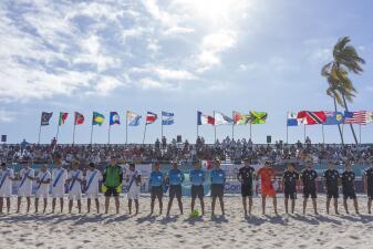 En fotos: el Tri de playa tiene buen arranque en el Premundial en Puerto Vallarta