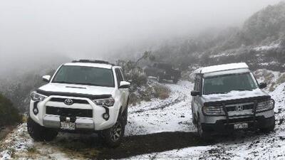 Nieve en Hawaii y temperaturas cálidas en Alaska: los efectos del fenómeno de la corriente en chorro del Ártico
