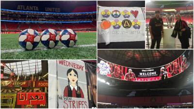 Todo listo en Atlanta para la final de la Conferencia Este de la MLS