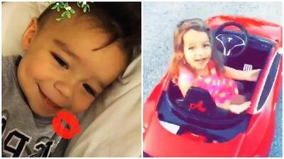 Alaia Costa y Diego d'Ornellas, los pequeños que acaparan los 'likes' en Instagram