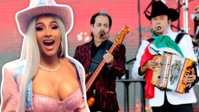 Los Tigres del Norte revelan que quieren hacer un dueto con Cardi B