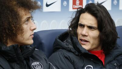 Edinson Cavani y David Luiz no quieren volver a París con el PSG