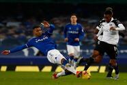 Fulham sorprende al Everton de Ancelotti y golea 2-0 en Goodison Park. Josh Maja, titular por primera vez, se llevó la tarde con doblete y James Rodriguez salió lesionado durante el encuentro en la Jornada 24 de la Premier League.
