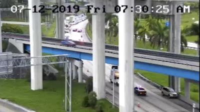 Reabierta la I-95 desde Broward hasta Miami luego de un accidente mortal de tráfico