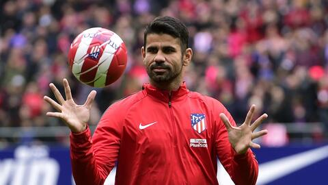 ¡Volvió! Diego Costa regresó a los entrenamientos del Atlético de Madrid