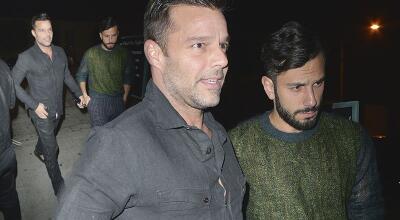En fotos: El romántico paseo de Ricky Martin con su novio Jwan Yosef