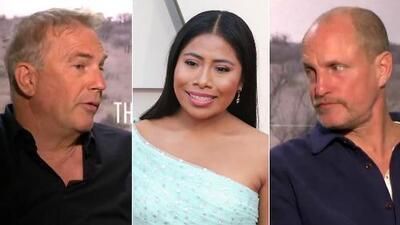 Kevin Costner y Woody Harrelson tienen mucho qué decir de Yalitza Aparicio por haber estado nominada al Oscar