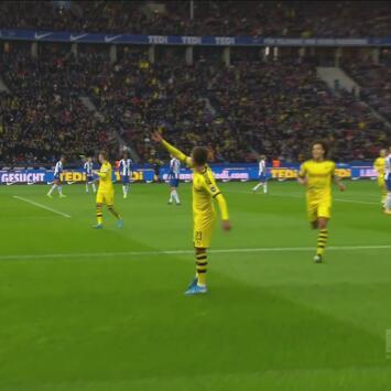 ¡Ya hicieron el segundo! Hazard tiene prisa y aumenta el la ventaja ante el Hertha