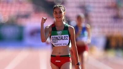 ¡Viva México! Alegna González conquistó el oro en los 10 mil metros de marcha