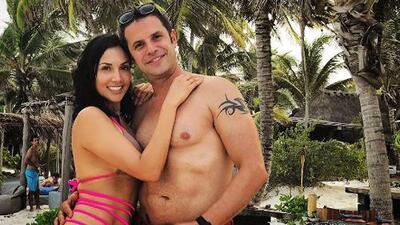 A Mark Tacher le encantó el tan criticado traje de baño de su novia Cynthia Alesco
