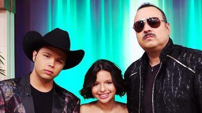 """Pepe Aguilar recuerda que Ángela tenía 2 años y Leonardo 6 cuando empezaron a cantar """"como un juego"""""""