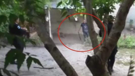 Imágenes sensibles: Hombre mató a machetazos a su esposa embarazada y sus hijos
