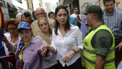 Niegan allanamiento de la casa de María Corina Machado