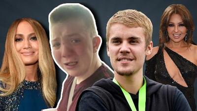 JLo, Thalía y Justin Bieber se solidarizan con niño cuyo caso de acoso se ha viralizado