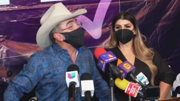 Hijo de Vicente Fernández asegura no haber visto el video que acusa a su padre de tocar de manera indebida a una fan