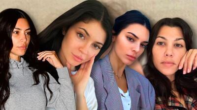 Belleza al natural en fotos: cuando las Kardashian Jenner se dejaron ver sin una gota de maquillaje