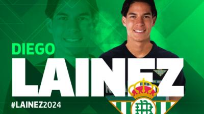"""Guardado ya le dio la bienvenida a Lainez: """"Somos más que un club, somos una familia"""""""