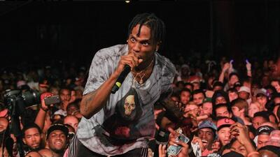 Travis Scott Gets the Gold