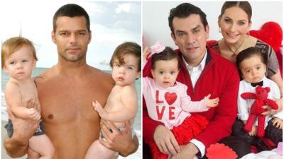 Estos famosos se convirtieron en padres de gemelos y mellizos