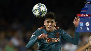 Duro codazo a Edson, pero PSV le pegó al PEC Zwolle