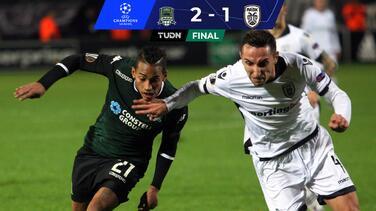 Krasnodar pega primero al PAOK de Grecia