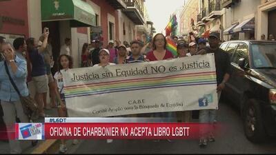 Charbonier rechazó un regalo de la comunidad LGBT