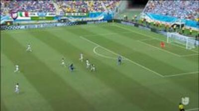 Disparo afuera de Mario Balotelli