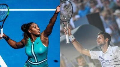 Djokovic y Serena Williams avanzan a Octavos del Abierto de Australia