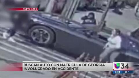 Buscan a personas que manejaban auto con placas de Georgia por serio delito