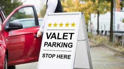 El servicio de valet parking es casi obligatorio en el sur de la Florida