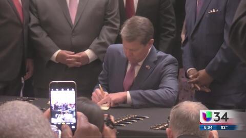 Gobernador Kemp legaliza la marihuana medicinal en Georgia