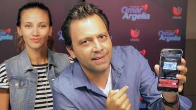 Omar y Argelia te explican como escucharlos en Uforia
