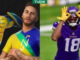 Neymar y Justin Jefferson con su 'Get Griddy' estarán en Fortnite